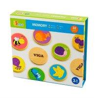 """Настольная игра """"Memory"""" 32 карточки, ТМ Viga Toys"""