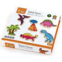 """Набор магнитных фигурок """"Динозавры"""", 20 шт., ТМ Viga Toys"""
