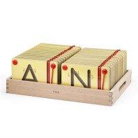 Набор для написания магнитных букв Заглавные, ТМ Viga Toys