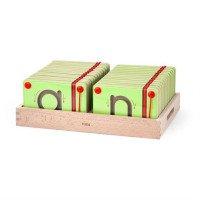 Набор для написания магнитных букв Строчные, TM Viga Toys