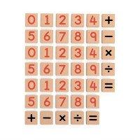 Набор Магнитные цифры и знаки 40 шт, ТМ Viga Toys