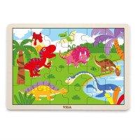 "Пазл ""Динозавр"", ТМ Viga Toys"