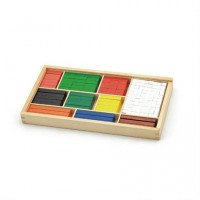 """Набор для обучения """"Математические блоки"""",Viga Toys"""