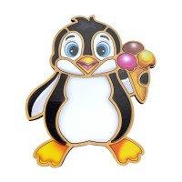 Контурный пазл - Пингвин, ТМ  Liltle Panda