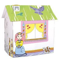Картонный домик для принцессы, ТМ BINO