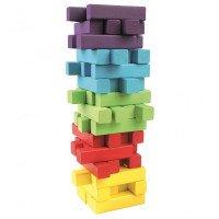 Башня (деревянные кубики ) 60 дет., Bino