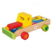 Машина с кубиками, Bino