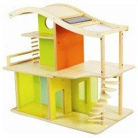 Бамбуковый кукольный домик, свет Hape