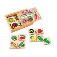 """Настольная игра лото Овощи, фрукты, ягоды"""" Lam Toys"""
