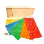 Розвиваючий планшет-лабіринт Тандем Дошки, (9 деталей),  Lam Toys