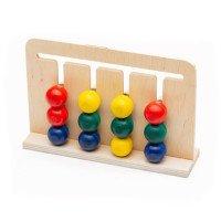 """Розвиваючий лабіринт головоломка для дітей """"Бігунок"""",  Lam Toys"""