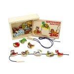 Шнурівка Тварини, 20 деталей,  Lam Toys