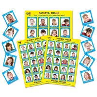 """""""Емоції. Почуття"""" для індивідуальних занять з дитиною, батьками і педагогом, набір карток і постерів, ДивоГра"""
