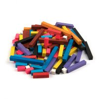 Цветные палочки Кюизенера. 116 шт в наборе, ТМ KOMAROVTOYS