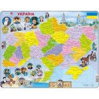 Пазл Карта Украины - история, Larsen