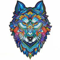 Пазл з Дерева «Величний Вовк»