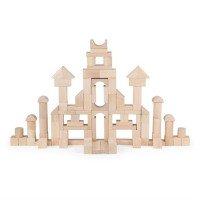 Дерев'яний кубики нефарбовані, 100 шт., 3 см, Viga Toys