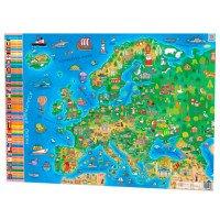 Плакат Дитяча карта Європи А1