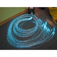 Оптоволоконний пучок бокового свічення  30 волокон, 3 м, Альма