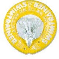 Надувной круг SWIMTRAINER желтый, SWIMTRAINER